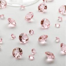Diamants de coratifs roses