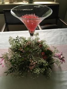 Vase martini de co
