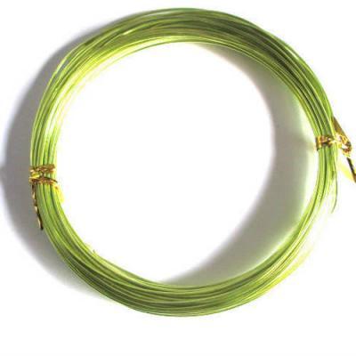 fil aluminium vert anis