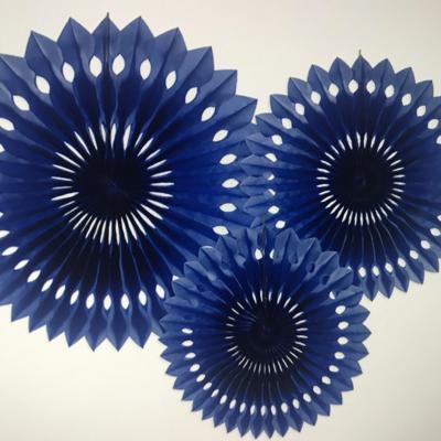 Rosaces Bleues (20 cm 25cm et 30cm)