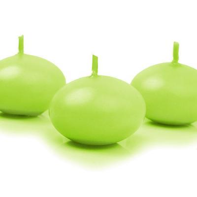 Bougie flottante vert anis