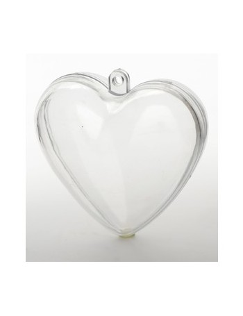 Contenant plexi en forme de coeur pc