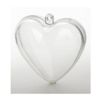Coeur plexi transparent