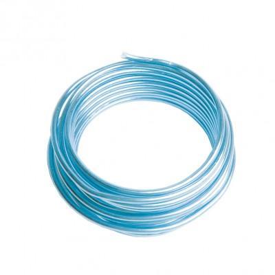 Fil aluminium Bleu