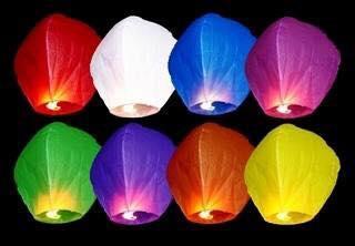 Lanternes volantes
