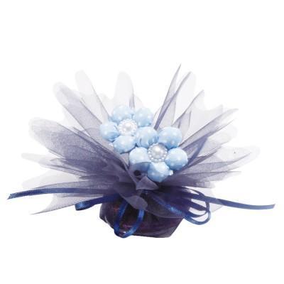 Tulles bleu marine