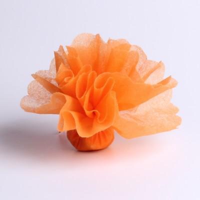 Tulle intisse orange