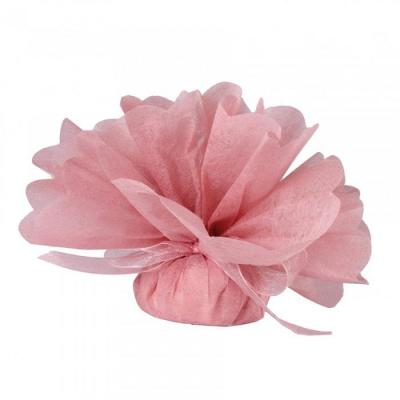 Tulles intissés roses clairs